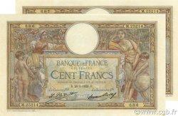 100 Francs LUC OLIVIER MERSON grands cartouches FRANCE  1929 F.24.08 SUP+ à SPL