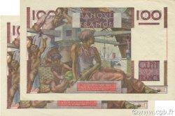100 Francs JEUNE PAYSAN FRANCE  1952 F.28.33 SPL+