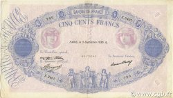 500 Francs BLEU ET ROSE FRANCE  1936 F.30.36 TTB+