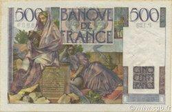 500 Francs CHATEAUBRIAND FRANCE  1952 F.34.10 pr.SPL