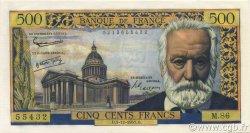 500 Francs VICTOR HUGO FRANCE  1957 F.35.07