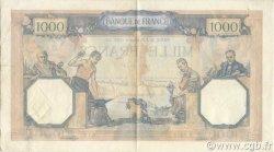 1000 Francs CÉRÈS ET MERCURE type modifié FRANCE  1938 F.38.32 pr.SUP