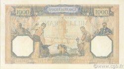 1000 Francs CÉRÈS ET MERCURE type modifié FRANCE  1940 F.38.41 SUP+