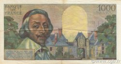 1000 Francs RICHELIEU FRANCE  1956 F.42.19 SUP