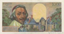 1000 Francs RICHELIEU FRANCE  1956 F.42.21 SUP