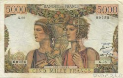 5000 Francs TERRE ET MER FRANCE  1949 F.48.02 TTB+