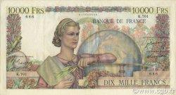 10000 Francs GÉNIE FRANÇAIS FRANCE  1950 F.50.30 TTB