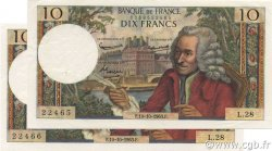 10 Francs VOLTAIRE FRANCE  1963 F.62.04 SUP+