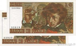 10 Francs BERLIOZ FRANCE  1974 F.63.07a SUP à SPL