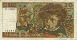 10 Francs BERLIOZ FRANCE  1975 F.63.15 TB à TTB