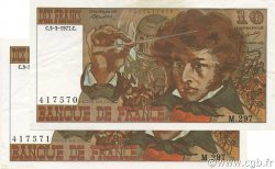 10 Francs BERLIOZ FRANCE  1977 F.63.21 SPL