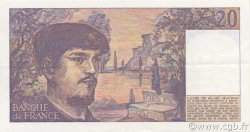 20 Francs DEBUSSY FRANCE  1980 F.66.01 SUP