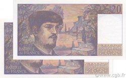 20 Francs DEBUSSY FRANCE  1988 F.66.09a pr.NEUF