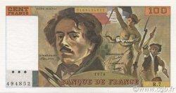 100 Francs DELACROIX modifié FRANCE  1978 F.69.01d