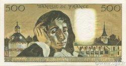 500 Francs PASCAL FRANCE  1968 F.71.01 TTB+
