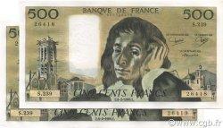 500 Francs PASCAL FRANCE  1986 F.71.34 SPL