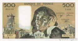 500 Francs PASCAL FRANCE  1990 F.71.44 SPL