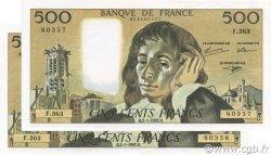 500 Francs PASCAL FRANCE  1992 F.71.49 SPL