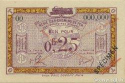 25 Centimes FRANCE régionalisme et divers  1923 JP.03s SPL