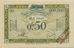 50 Centimes FRANCE régionalisme et divers  1923 JP.04s SPL