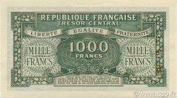 1000 Francs Marianne chiffres gras FRANCE  1945 VF.12.02 SUP à SPL