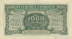 1000 Francs Marianne chiffres maigres FRANCE  1945 VF.13.01 SPL+