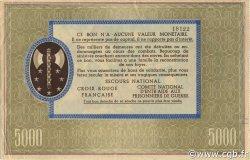 5000 Francs FRANCE régionalisme et divers  1941 KL.13A SUP+