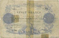 20 Francs type 1871 FRANCE  1872 F.A46.03 AB