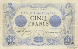 5 Francs NOIR FRANCE  1874 F.01.25 TB