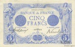 5 Francs BLEU FRANCE  1914 F.02.22 SUP