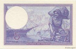 5 Francs VIOLET FRANCE  1917 F.03.01 NEUF