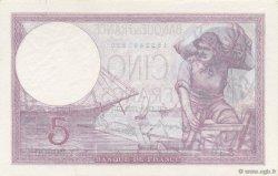 5 Francs VIOLET modifié FRANCE  1939 F.04.06 NEUF