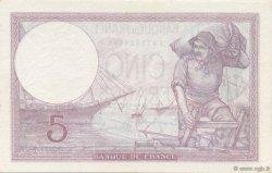 5 Francs VIOLET modifié FRANCE  1939 F.04.09 SPL+