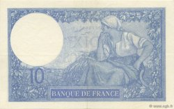 10 Francs MINERVE FRANCE  1921 F.06.05 SUP+