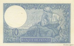 10 Francs MINERVE FRANCE  1925 F.06.09 pr.SPL