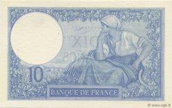 10 Francs MINERVE FRANCE  1926 F.06.11 SPL+