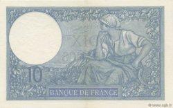 10 Francs MINERVE FRANCE  1937 F.06.18 SUP+