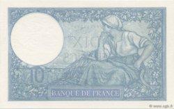 10 Francs MINERVE modifié FRANCE  1940 F.07.20 SPL+