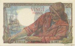 20 Francs PÊCHEUR FRANCE  1949 F.13.14 NEUF