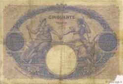 50 Francs BLEU ET ROSE FRANCE  1895 F.14.07 TB