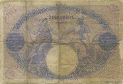 50 Francs BLEU ET ROSE FRANCE  1898 F.14.10 B+