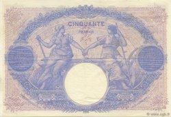50 Francs BLEU ET ROSE FRANCE  1912 F.14.25 TTB à SUP