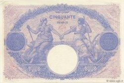 50 Francs BLEU ET ROSE FRANCE  1913 F.14.26 SUP à SPL