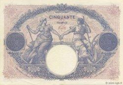 50 Francs BLEU ET ROSE FRANCE  1926 F.14.39 SUP+
