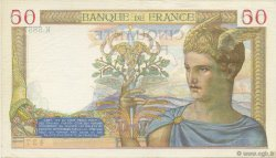 50 Francs CÉRÈS FRANCE  1937 F.17.36 SUP