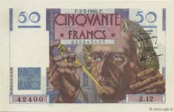 50 Francs LE VERRIER FRANCE  1946 F.20.03 NEUF