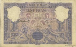100 Francs BLEU ET ROSE FRANCE  1902 F.21.16 TB