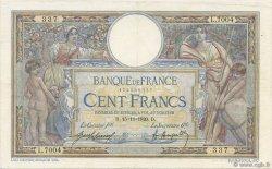100 Francs LUC OLIVIER MERSON sans LOM FRANCE  1920 F.23.13 TTB
