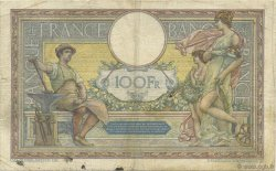 100 Francs LUC OLIVIER MERSON grands cartouches FRANCE  1923 F.24.01 TB