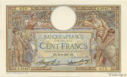 100 Francs LUC OLIVIER MERSON grands cartouches FRANCE  1937 F.24.16 SPL